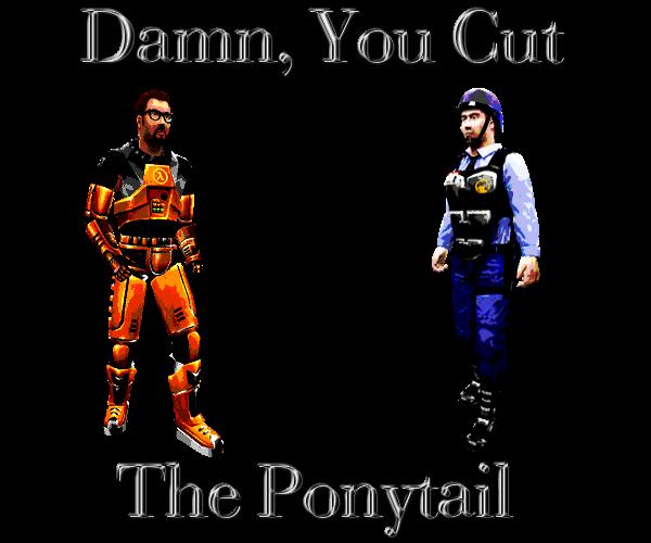 Damn You Cut The Ponytail By Gordoneli On Deviantart