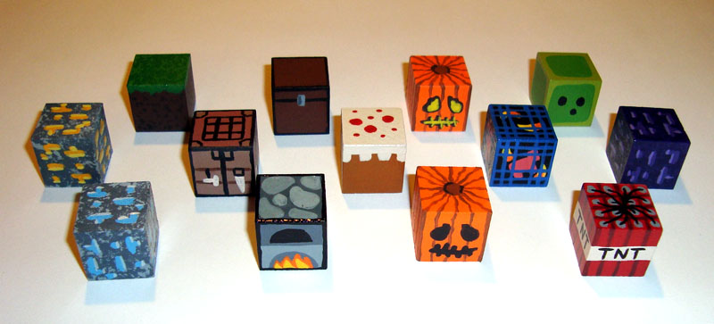 Minecraft Blocks by KitMcSmash on DeviantArt