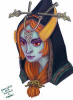 Midna Portrait by pancakesandhalibut