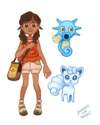 Pokemon Ultra Sun and Moon - Doodles by pancakesandhalibut