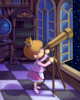 Animal Crossing - Observatory by pancakesandhalibut
