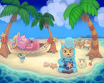 Animal Crossing - Reese and Cyrus