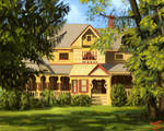 Victorian House by pancakesandhalibut