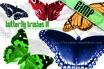 Gimp Butterfly Brushes