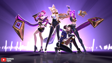 [MMD] K/DA Model Download [4 models completed] by southernlights293