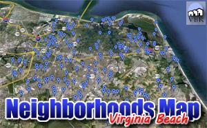 Virginia Beach Neighborhoods Map By Bird757 On Deviantart