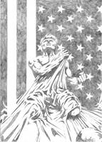 Steve Rogers, Captain America by StudioCombine