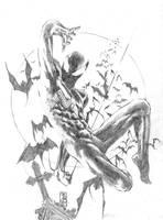 Symbiote Spider-man by StudioCombine