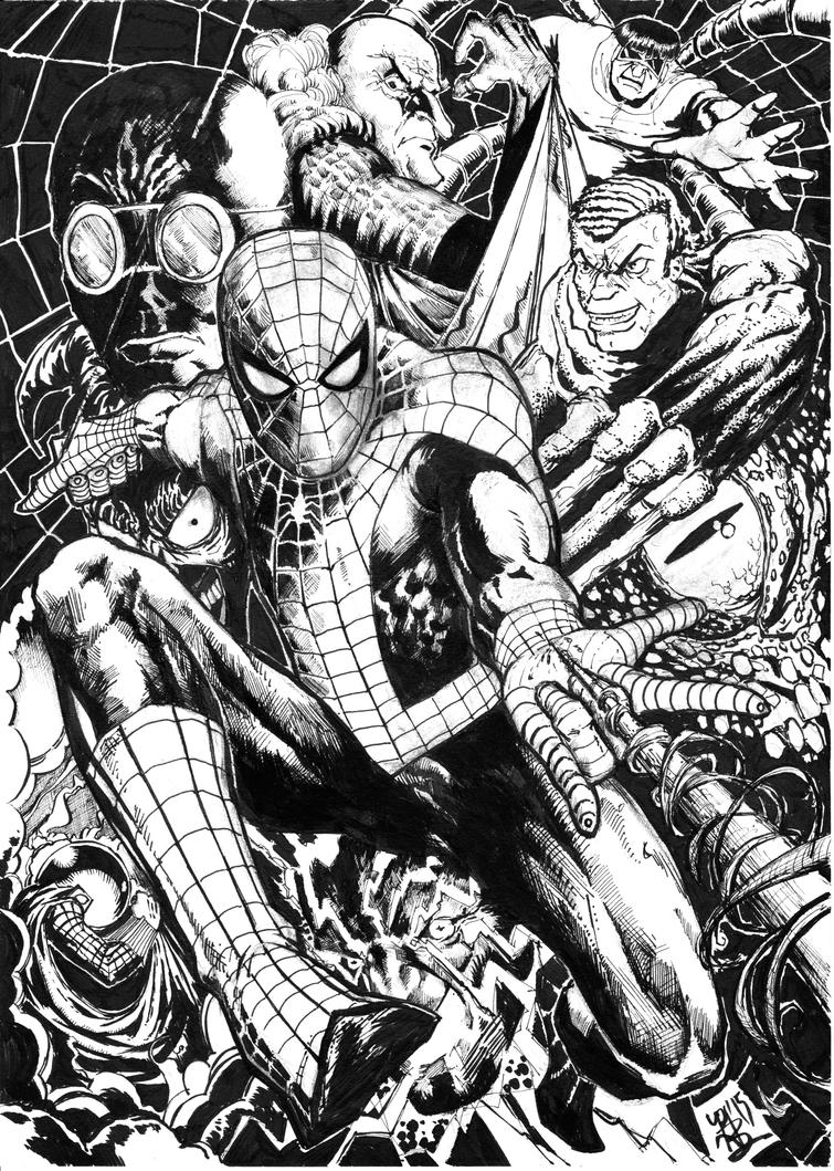 spider man fan art page 2 spider man crawl space message board