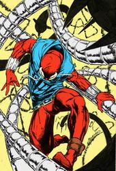 Scarlet Spider Coloured by StudioCombine