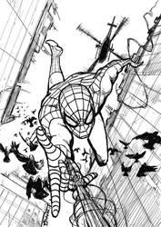 Spider-man 2017 by StudioCombine