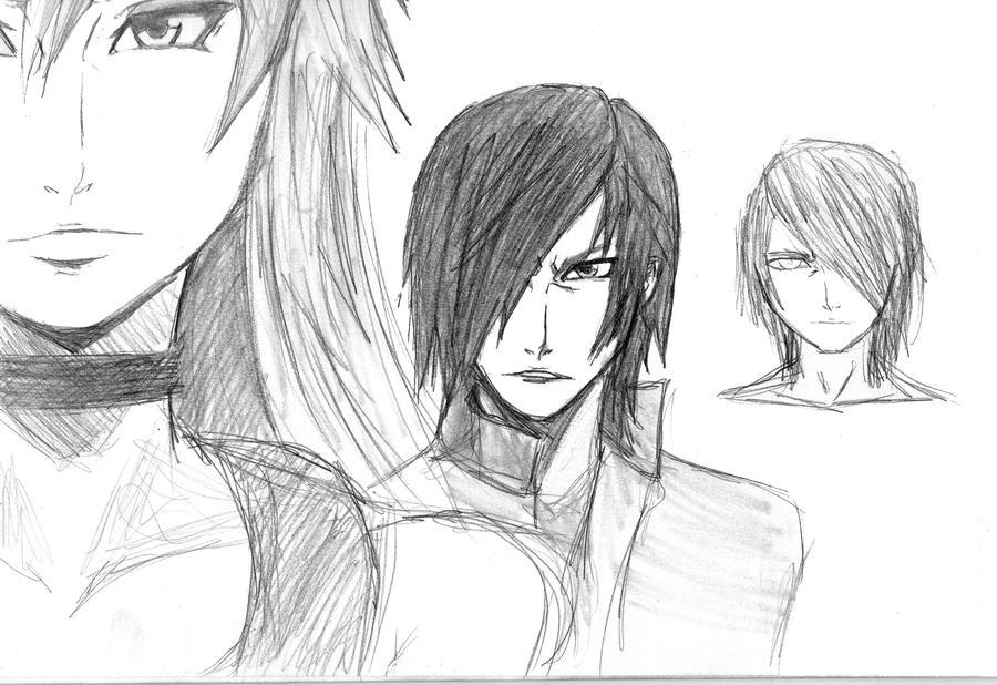 drawings by Okami-no-Chi