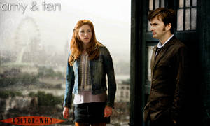 Doctor Who: Amy Pond - Tenth Doctor Poster