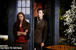 Amy Pond and The 10th Doctor Poster