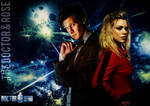 11th Doctor and Rose Tyler Poster
