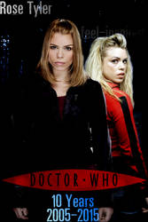 Doctor Who 10 Years Poster: Rose Tyler