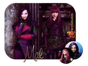 Descendants Blend #1 - Mal