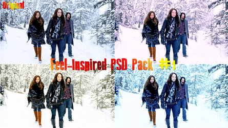 PSD Pack no.1 Ft Wynonna Earp