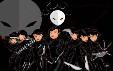 Daughters of Aku Complete Group