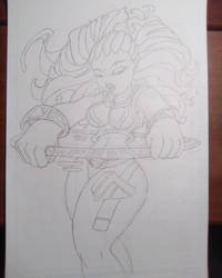 Hula _Pencil by mystic-skillz