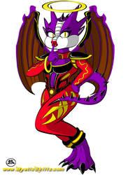 Dragon Angel Commission