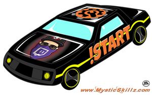Derby Car Emote Commission