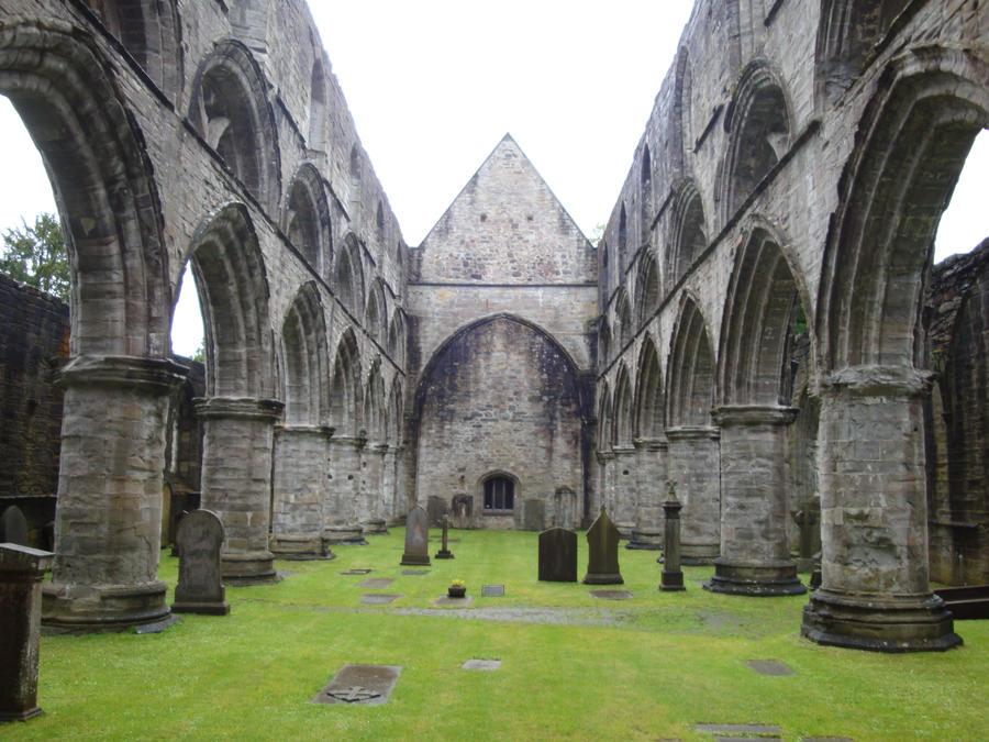 Inside Dunkeld's Cathedral by Ki-Kitsune