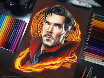 Doctor Strange - in reality by NataliHall