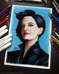 Miss Peregrine (Eva Green) - in reality by NataliHall