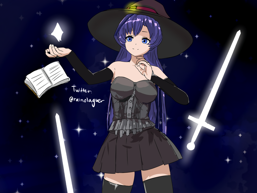 Lady Stella, the Enchantress (anime ver) by Rainimator