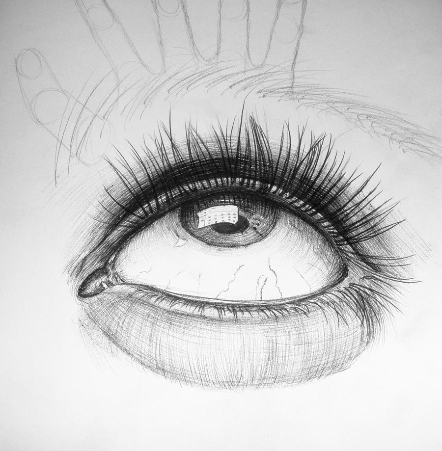 Side View Eye Drawing Eye Drawing Side View