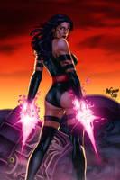 Psylocke by lummage