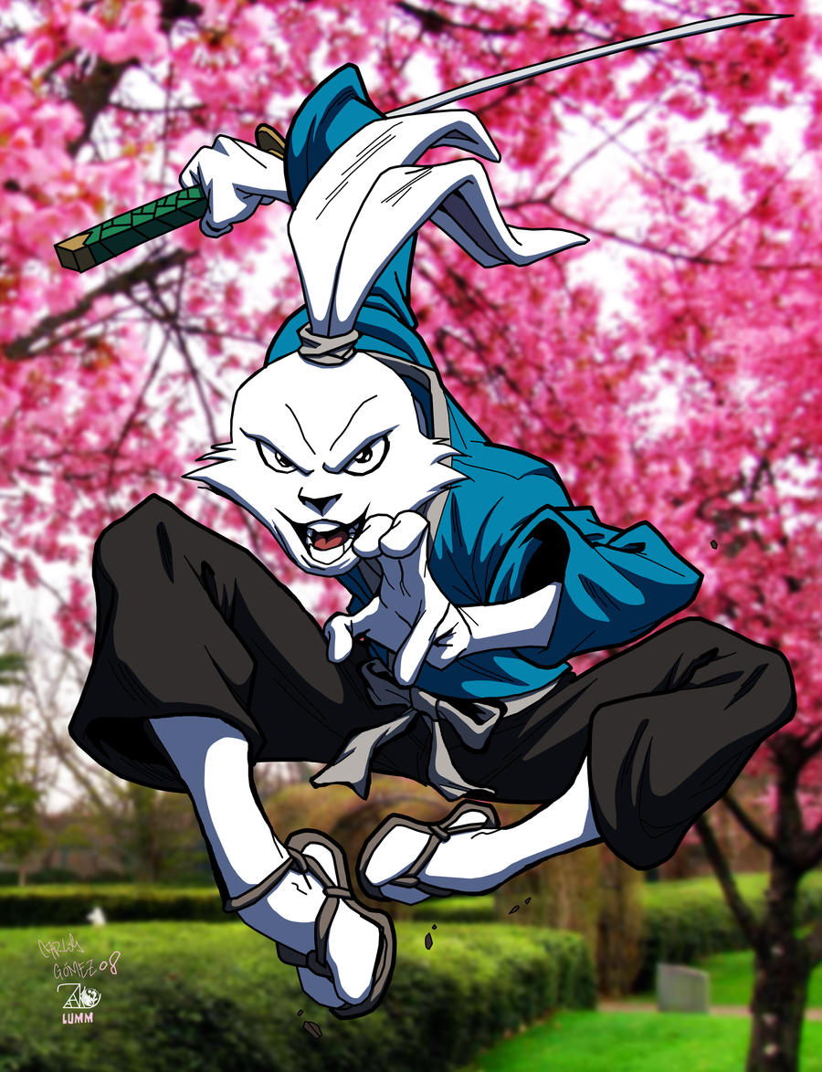 Usagi Yojimbo by lummage