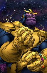 Thanos by lummage