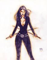 Psylocke - Andrew Robinson by lummage
