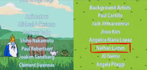 Adventure Time: Hey Ice King! game credits.