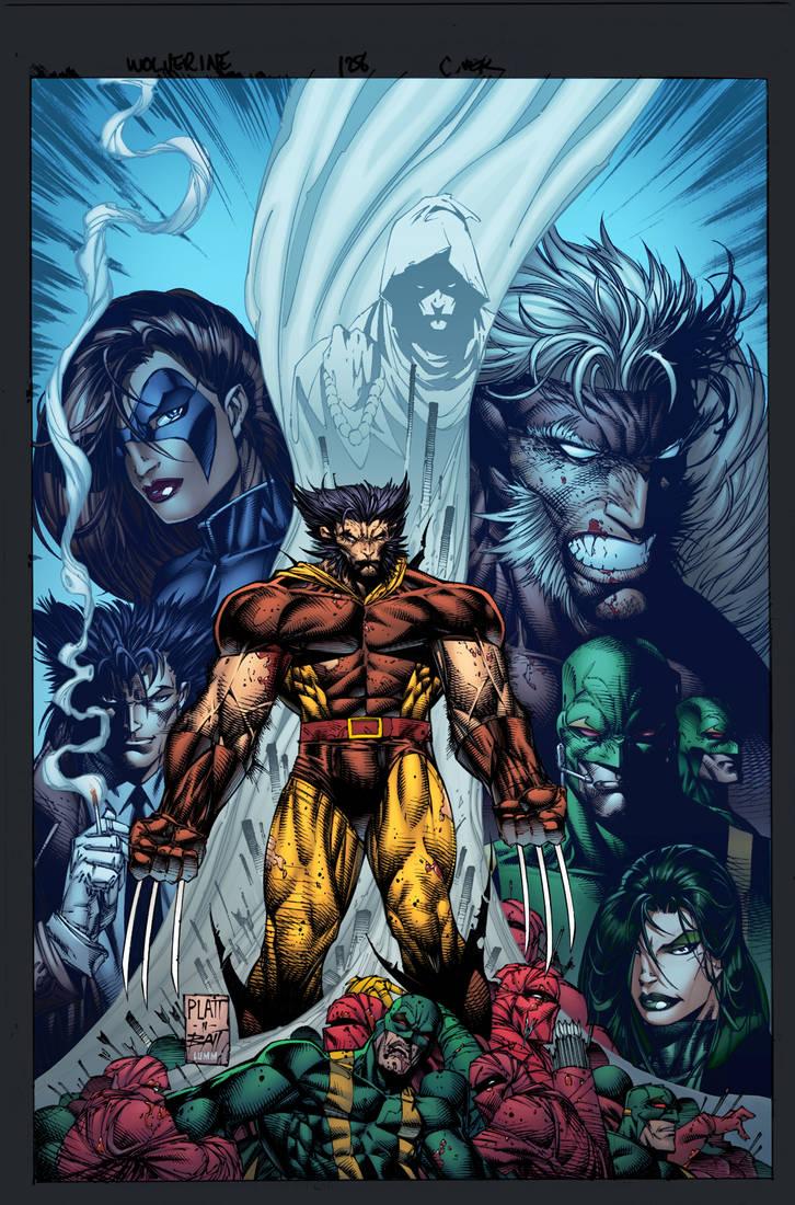 Splatt/Batt Wolverine by lummage