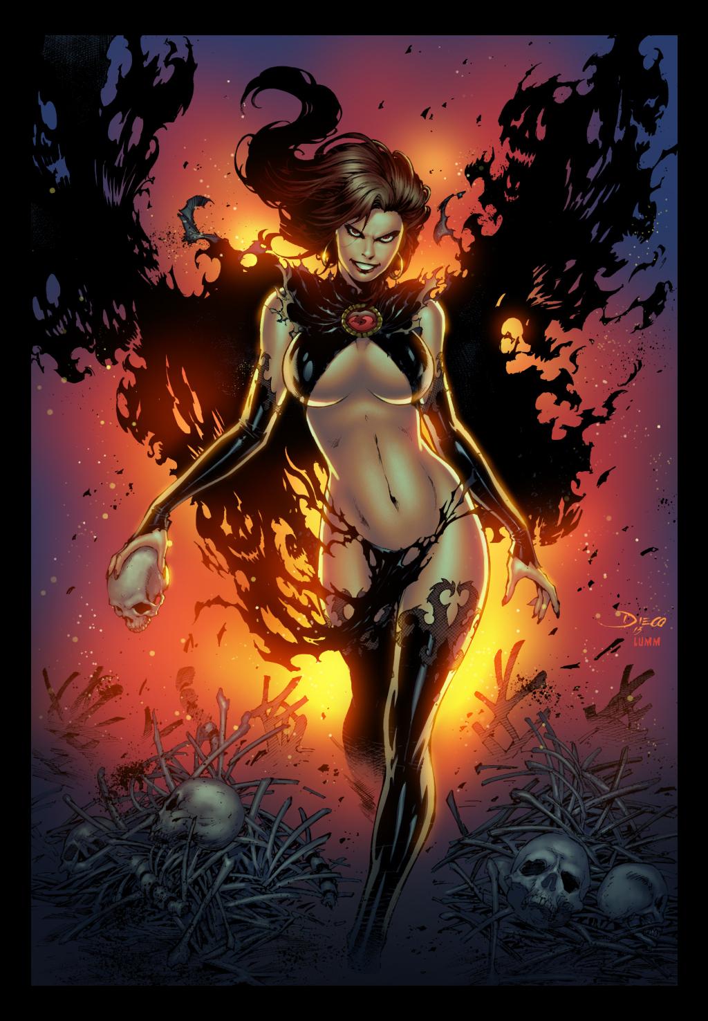 Goblin Queen by Diego Bernard by lummage