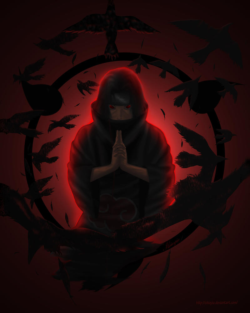 Itachi - Evanescent Ravens by Shiayia