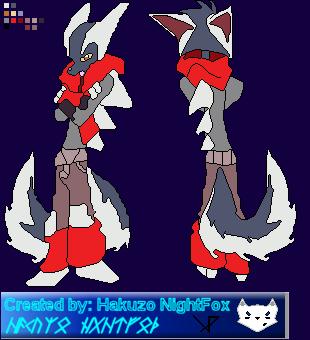 DK: Bast Base Sprite by hakuzo-nightfox