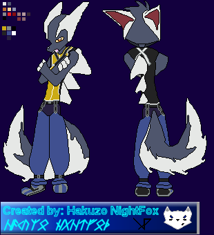 DK: Bast Sprite (Riku Costume) by hakuzo-nightfox