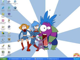 Kappa Mikey Desktop by Hissymau
