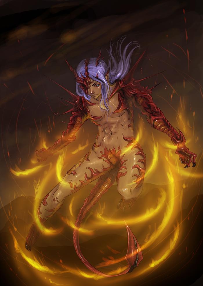 Echidna's legacy by Lady-Lillika