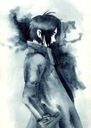 Manga character by atarioni