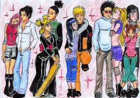 Naruto couples by akiraofkonoha
