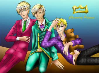Blonds princes by akiraofkonoha