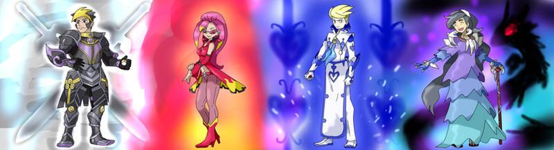The New Kalos Elite Four