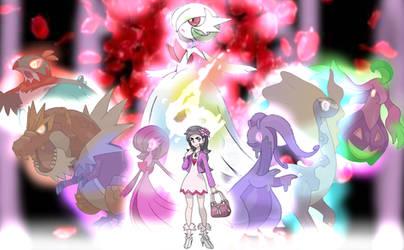 Diantha - Champion Of The Mystical Mega Evolution