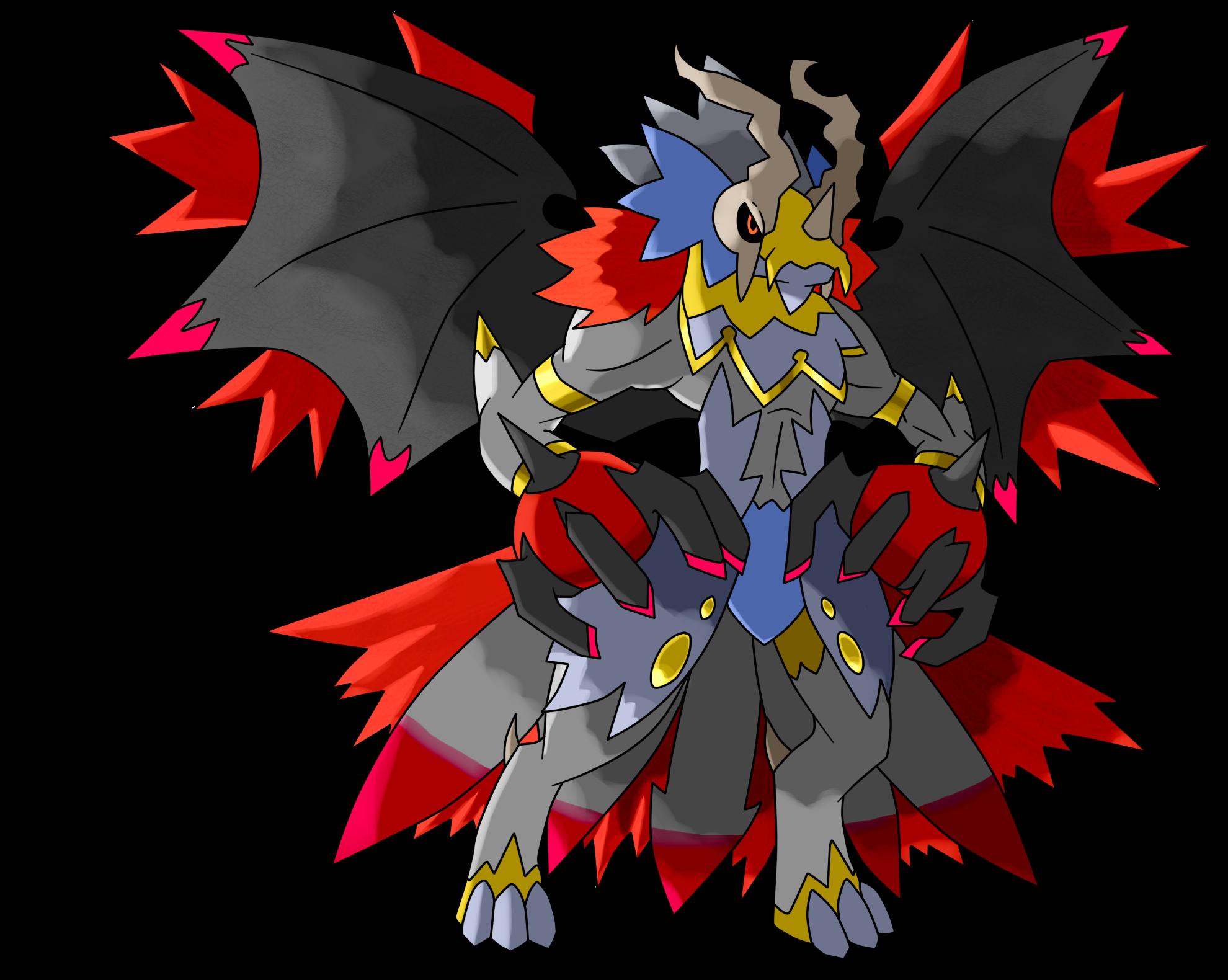 legendary fakemon based on the 7 sins pokemon