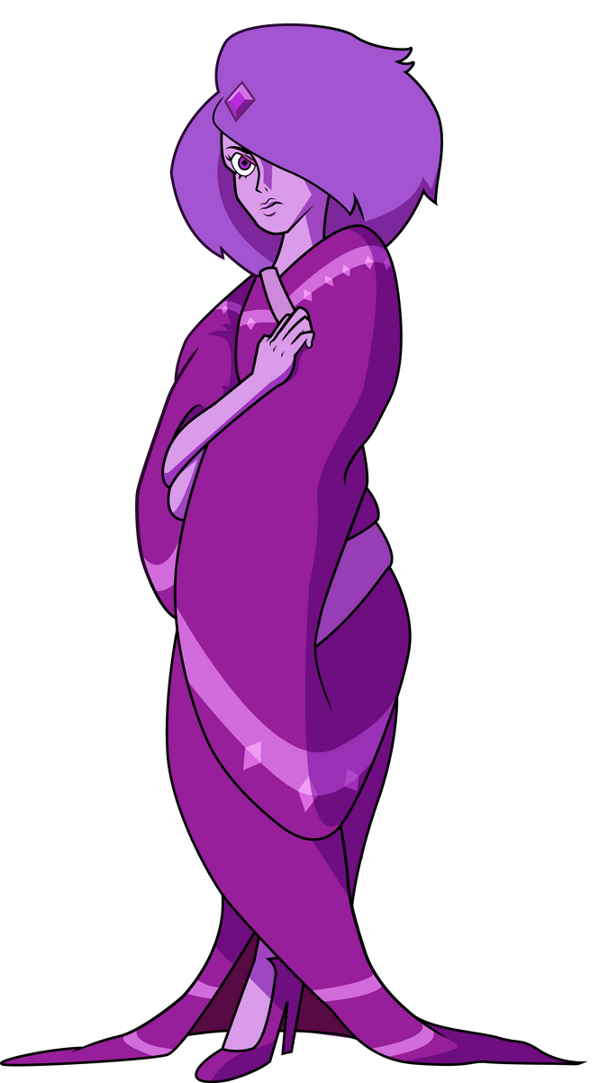 Purple Diamond by ChrisJ-Alejo